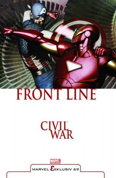 Marvel Exklusiv 69: Civil War - Front Line 2