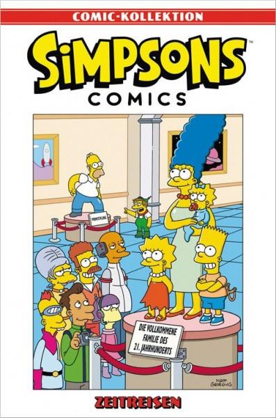 Simpsons Comic-Kollektion 28: Zeitreisen Cover