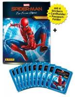 Spider-Man: Far From Home – Sticker und Cards – Schnupperbundle