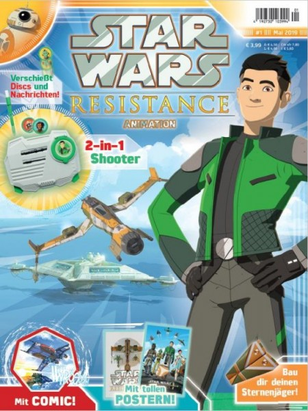 Star Wars: Resistance - Animation 1