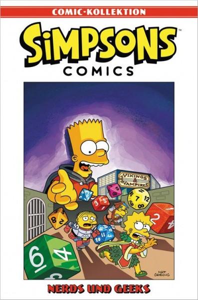 Simpsons Comic-Kollektion 13: Nerds und Geeks Cover