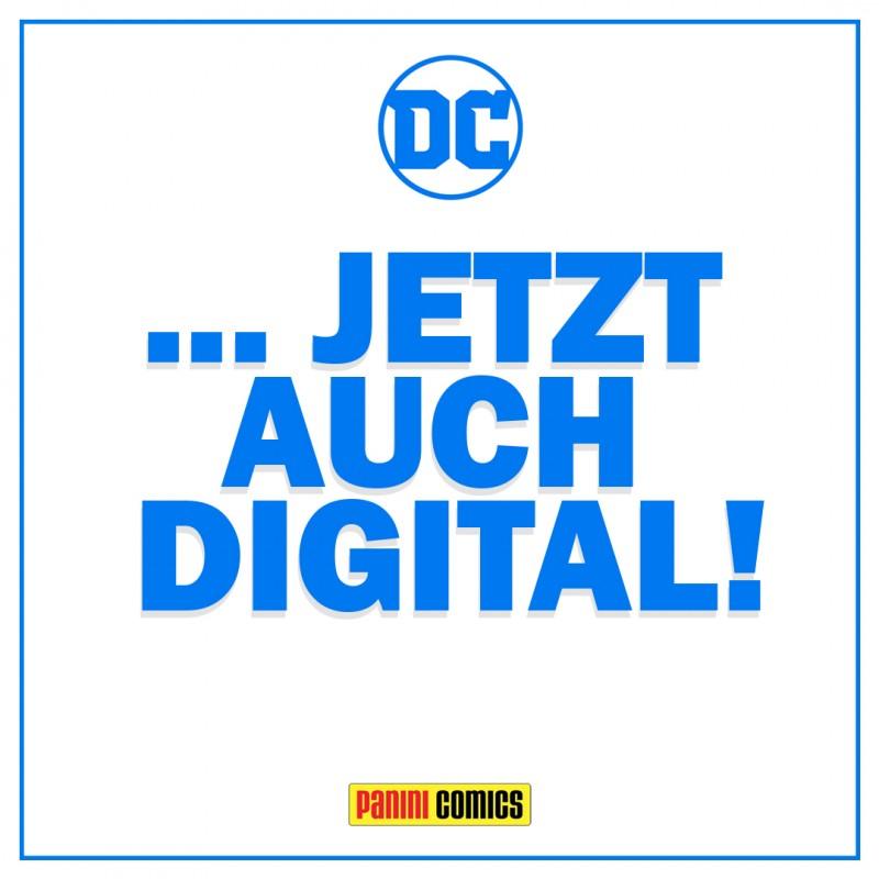 DC Comics jetzt auch digital! Banner