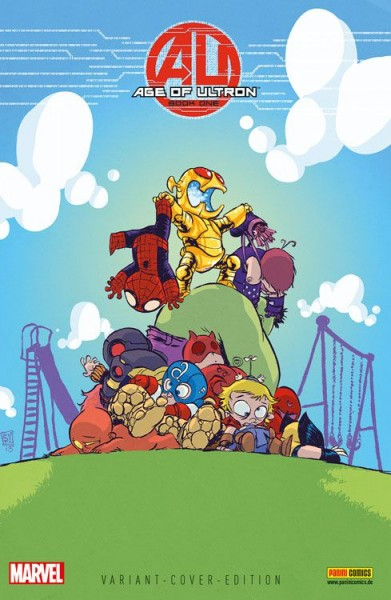 Age of Ultron 2 - Marvel-Baby Comic Action 2013 Variant
