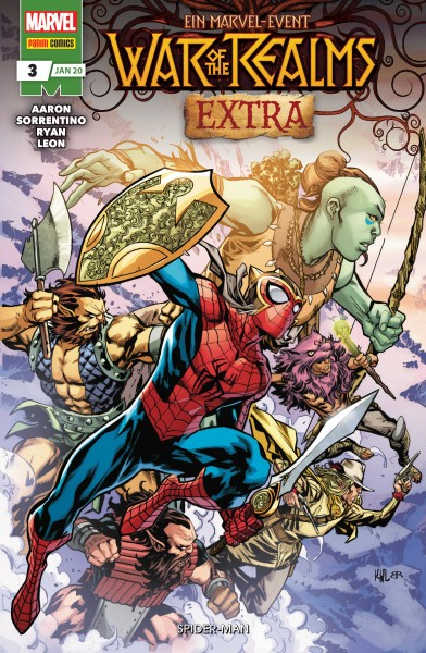 War of the Realms Extra 3: Spider-Man