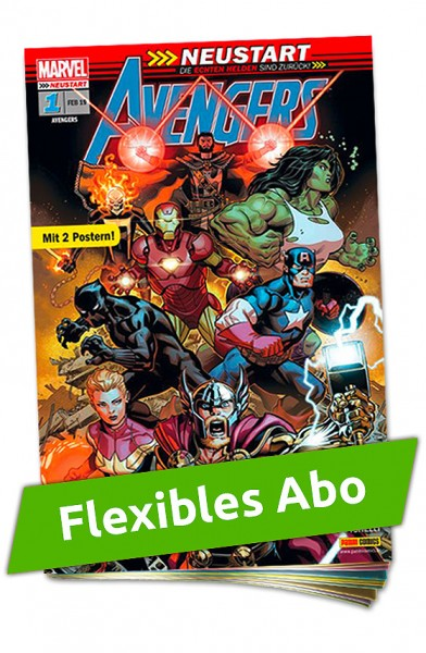 Flexibles Abo - Avengers Heft