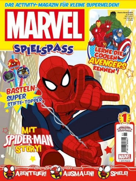 Marvel Spielspaß Magazin 1