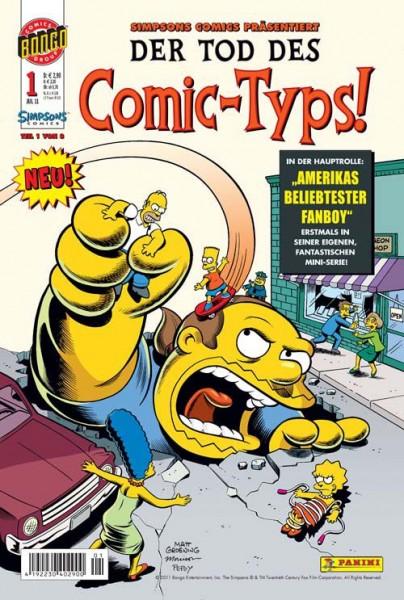 Simpsons Comics präsentiert: Der Tod des Comic-Typs 1
