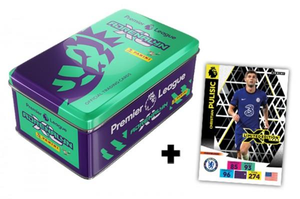 Panini Premier League Adrenalyn XL 2020/21 Kollektion – Tin-Box - Grün