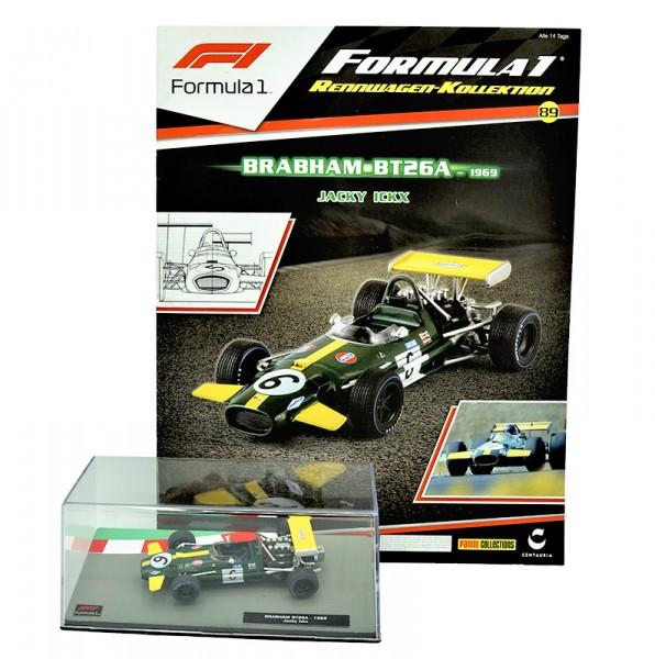 Formula 1 Rennwagen-Kollektion 89: Jacky Ickx (Brabham BT26A - 1969)
