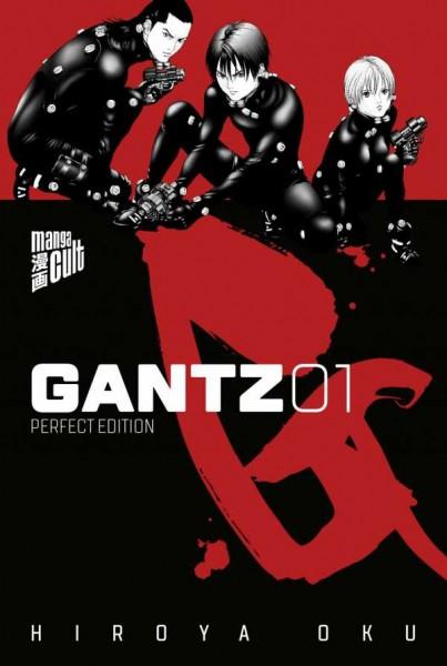 Gantz 1 Cover