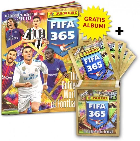 Panini FIFA 365 2018 Stickerkollektion - Bundle 1