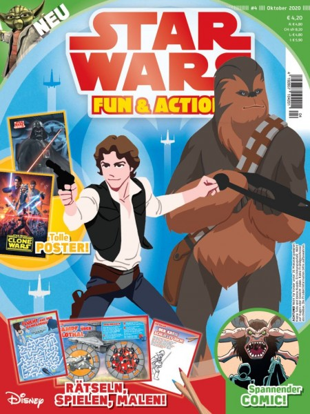Star Wars Fun & Action 04/20