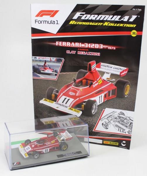 Formula 1 Rennwagen-Kollektion 36: Clay Regazzoni
