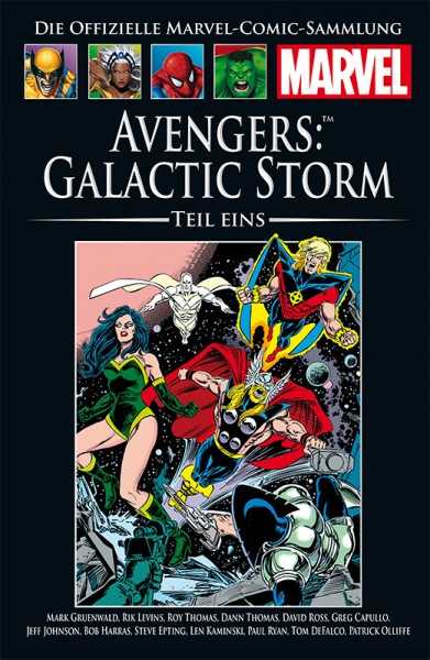Hachette Marvel Collection 182: Avengers - Galactic Storm, Teil I