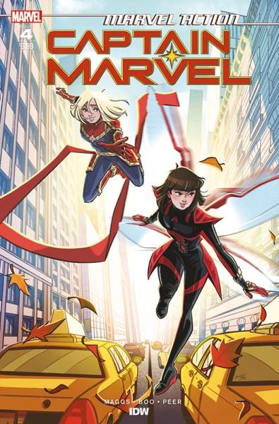Marvel Action: Captain Marvel 2 Cover
