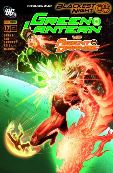 Green Lantern Sonderband 17: Agent Orange