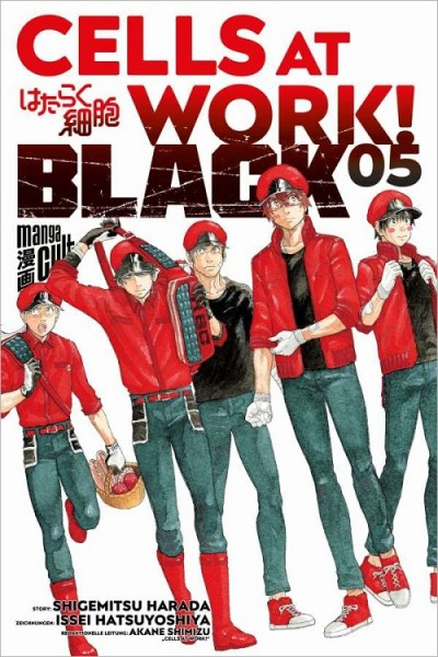 Cells at Work! Black 5 Cover