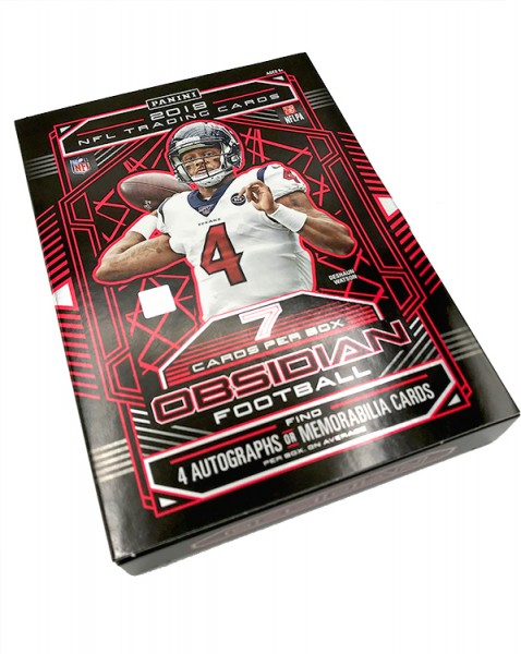 NFL 2019 Panini Obsidian Trading Cards - Hobbybox