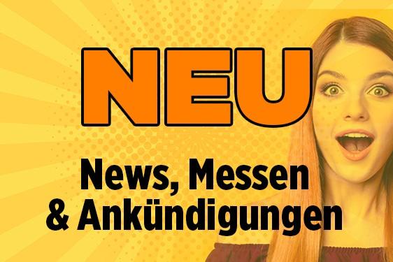 Neu bei Panini – News, Messen und Ankündigungen