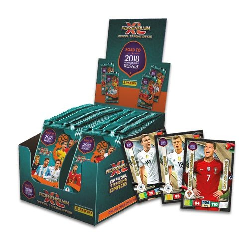 Road To FIFA World Cup Russia 2018 Adrenalyn XL - Bundle 4