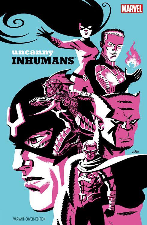 Uncanny Inhumans 1 Variant