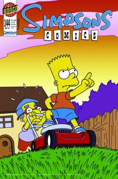 Simpsons Comics 144