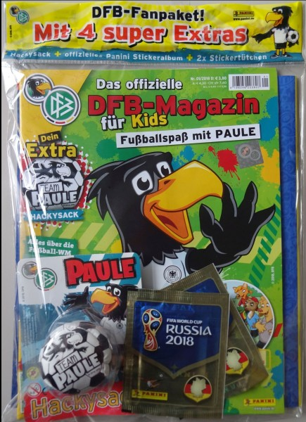DFB-Fussballspaß mit Paule 01/18