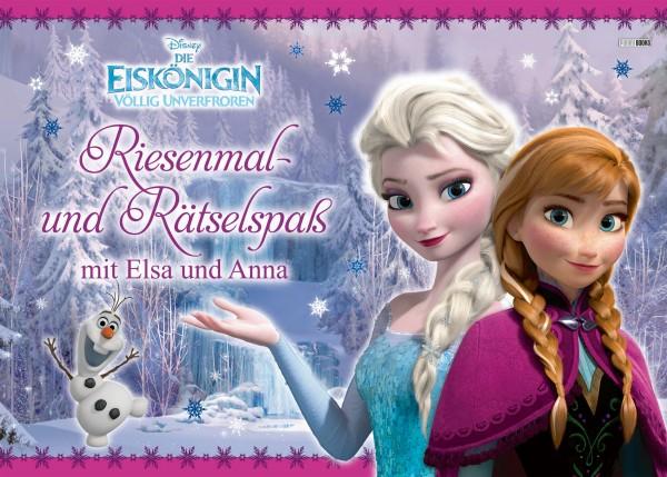 Disney: Die Eiskönigin - Riesenmal- und Rätselspaß