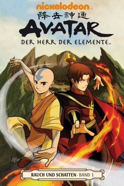 Avatar - Der Herr der Elemente 11: Rauch und Schatten 1 - Cover