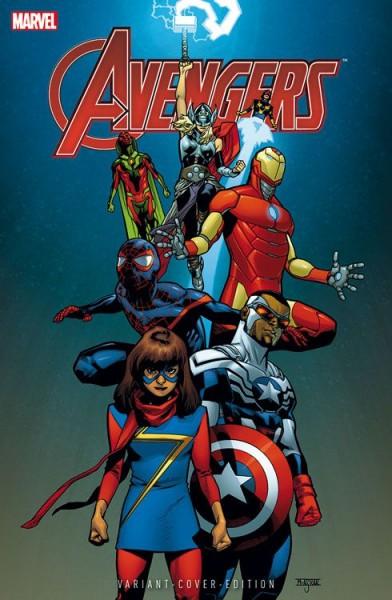 Avengers 5 (2016) Comic Con Wien Variant