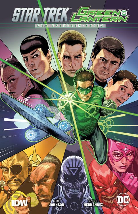 Star Trek/Green Lantern: Der...