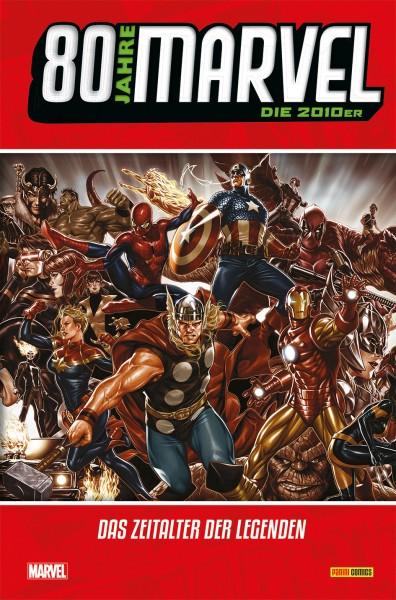80 Jahre Marvel: Die 2010er - Das Zeitalter der Legenden Cover