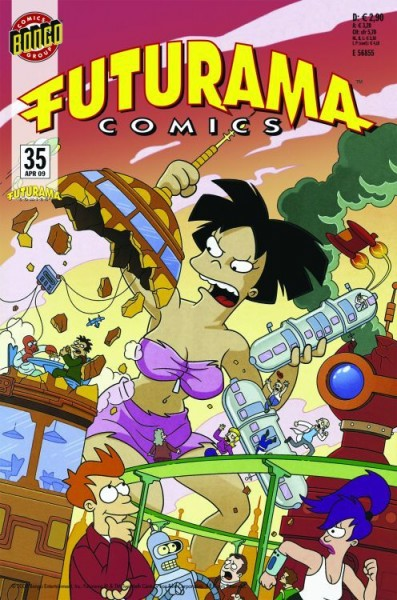 Futurama Comics 35