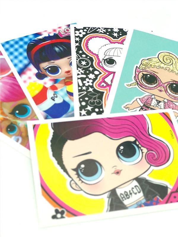 L.O.L. Surprise! Fashion Fun Sticker aus der Kollektion