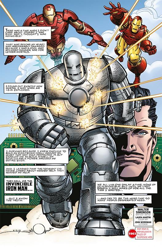 Marvel Comics 1000 – Blick in den Comic Vorschauseite 3