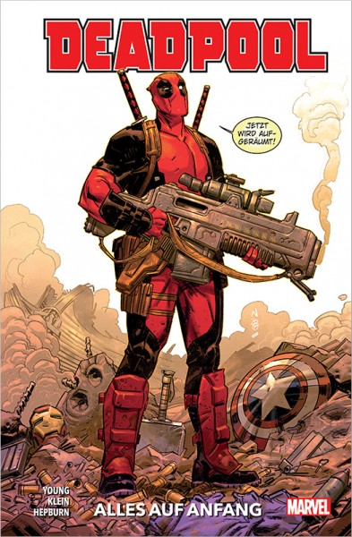 Deadpool Paperback 1 Cover