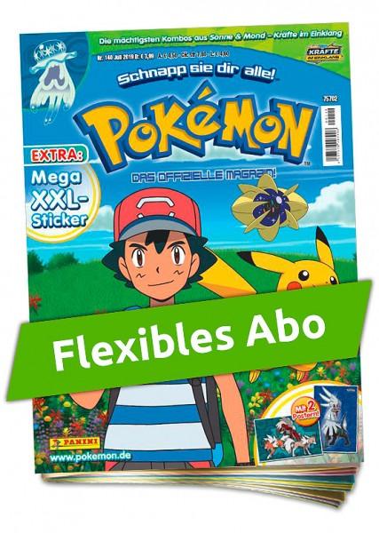Flexibles Abo - Pokémon Magazin
