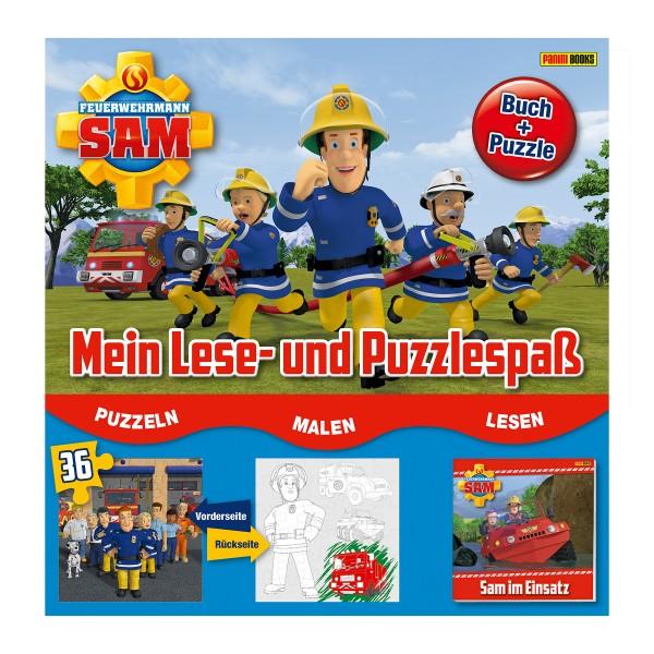 Feuerwehrmann Sam - Mein Lese- und Puzzlespaß