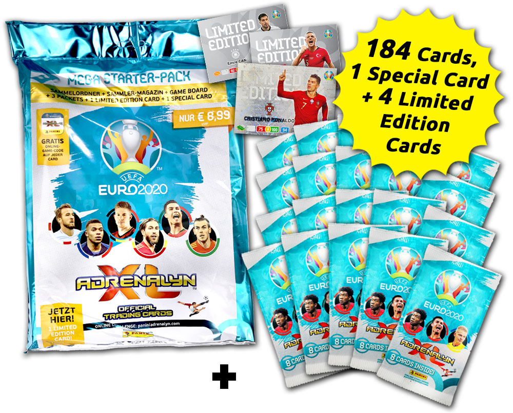 UEFA Euro 2020™ Adrenalyn XL Official Preview Collection - Sammelbundle
