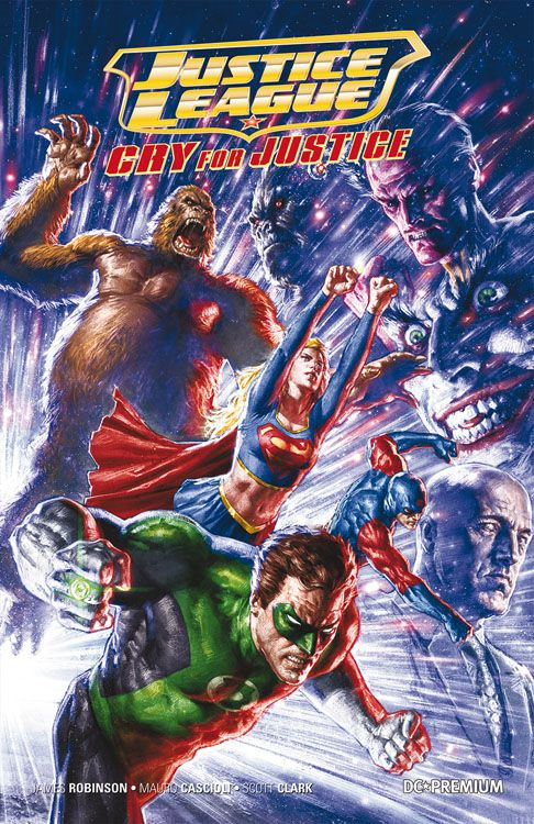 DC Premium 70 - Justice League - Cry...