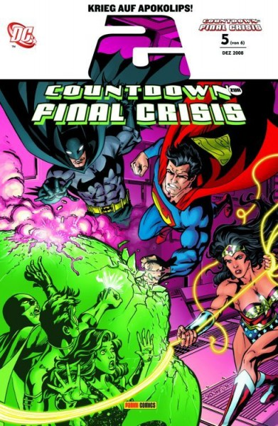 Countdown zur Final Crisis 5