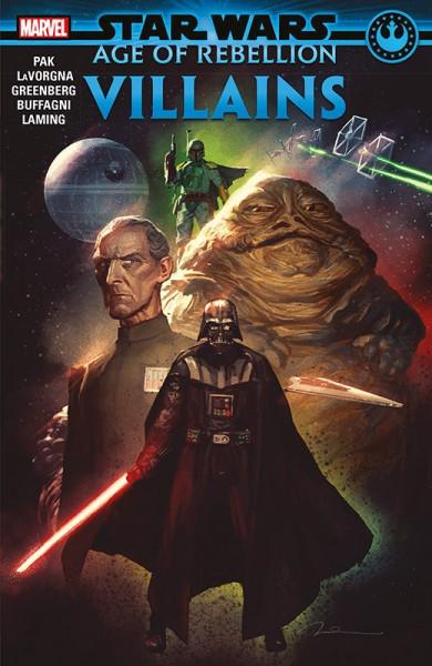 Star Wars: Age of Rebellion - Schurken Cover