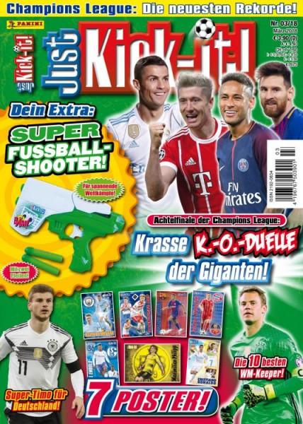 Just Kick-It! Magazin 03/18