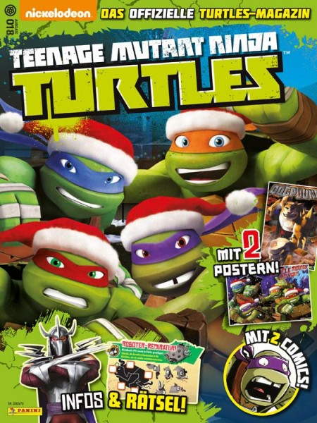Teenage Mutant Ninja Turtles - Magazin 18