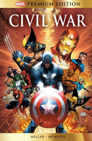 Marvel Premium: Civil War (Engl.)