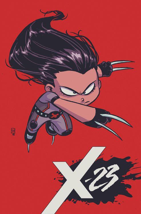 X-23 1: Zwei flogen über das...
