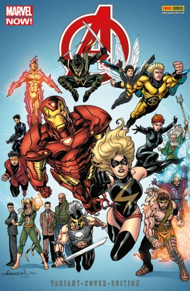 Avengers 15 (2013) Comic Action 2014 Variant