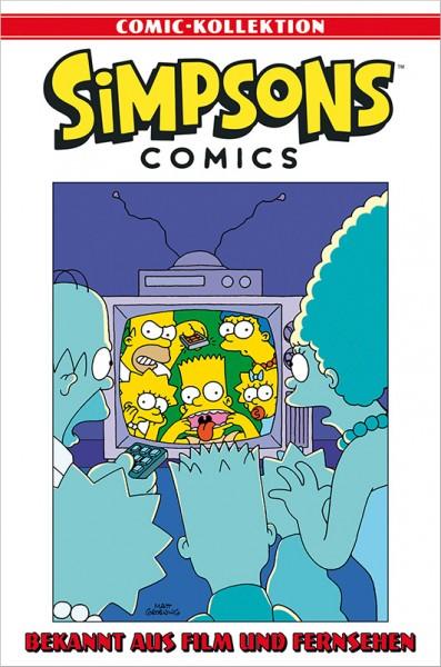 Simpsons Comic-Kollektion 62: Bekannt aus Film und Fernsehen Cover
