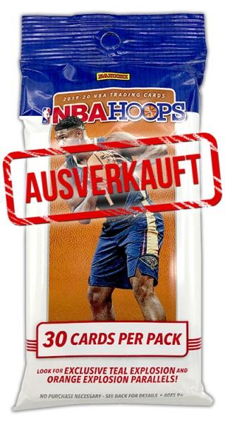 NBA Hoops 2019-20 Trading Cards - Fatpack - ausverkauft