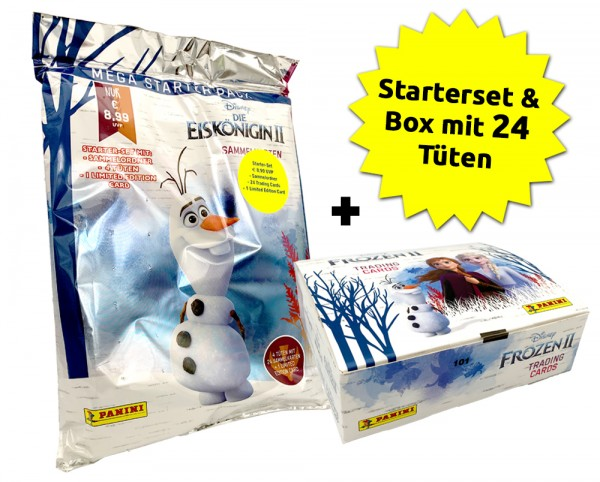 Disney: Die Eiskönigin 2 - Trading Cards - Eiskönigin-Cards-Bundle